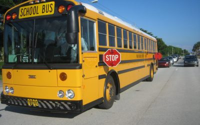 Increased Bus Safety with Extended Stop Arms