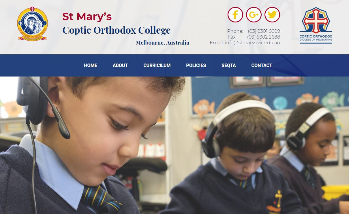 St Mary's Coptic Orthodox College
